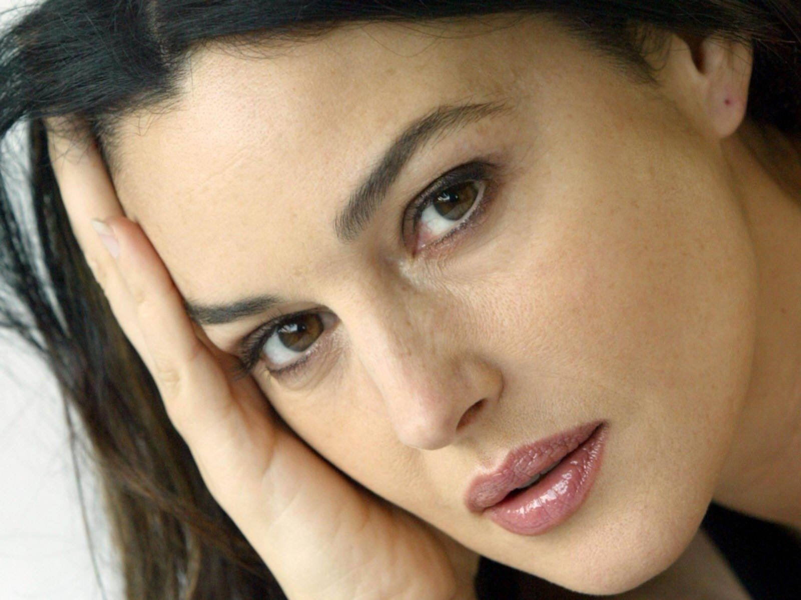Wallpaper: uno splendido primo piano di Monica Bellucci