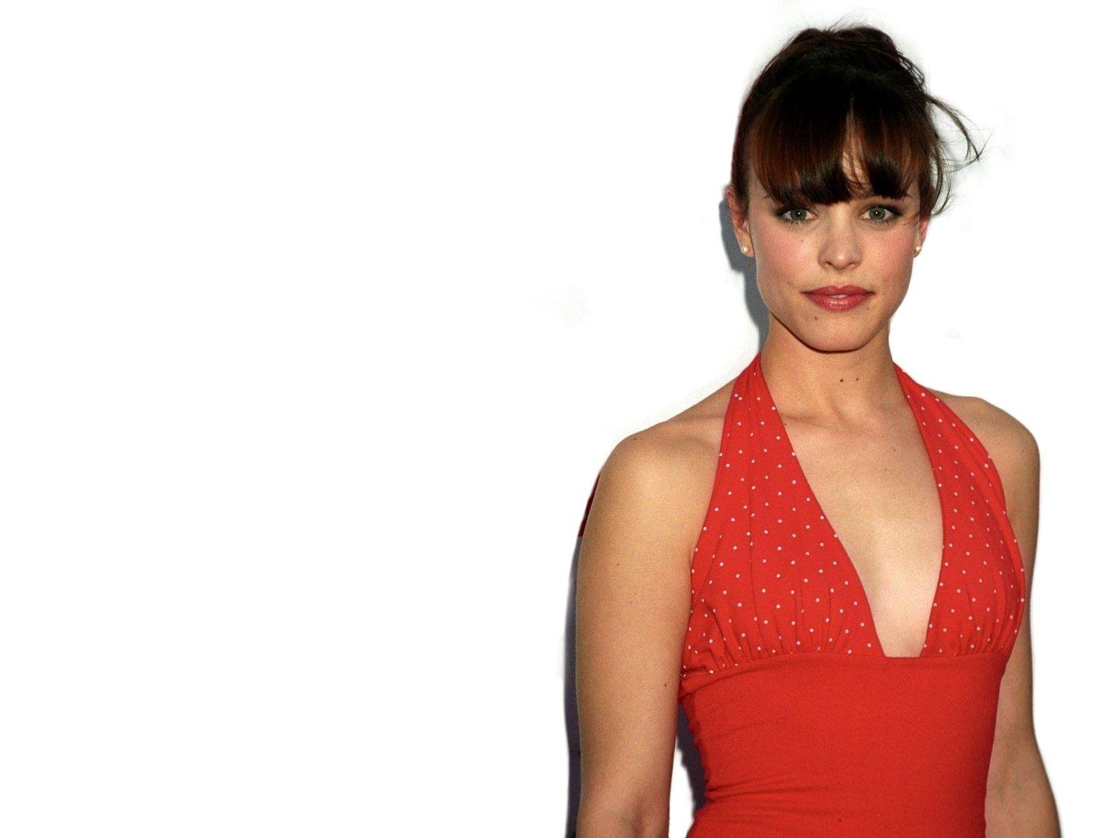 Wallpaper di Rachel McAdams in abito rosso