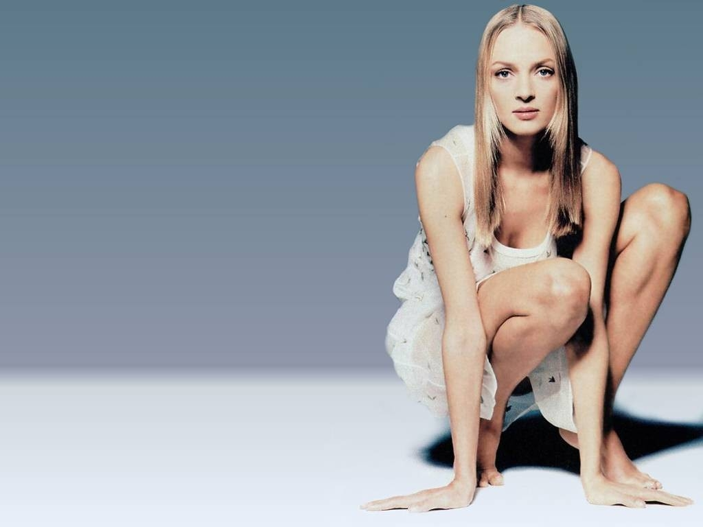 Wallpaper dell'attrice Uma Thurman