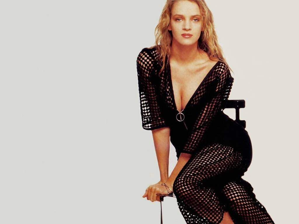 Wallpaper: trasparenze per Uma Thurman