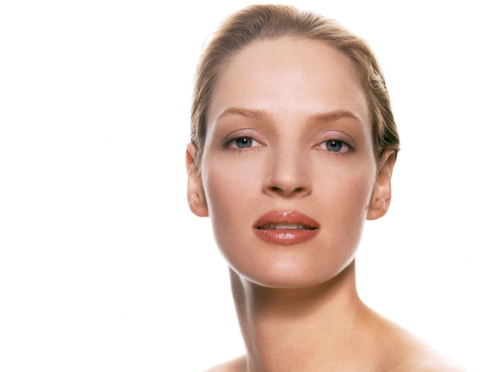 Wallpaper per il desktop di Uma Thurman.