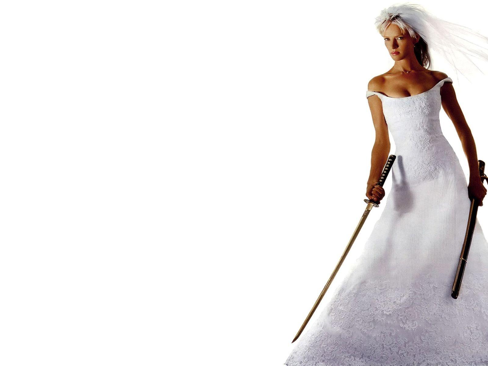 Wallpaper: Uma Thurman è La Sposa