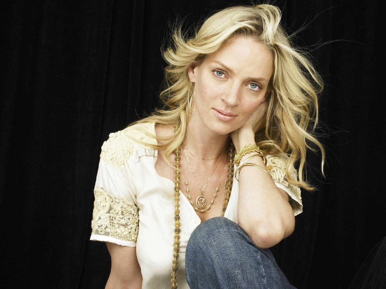 Wallpaper: Uma Thurman, icona di fascino e sexyness
