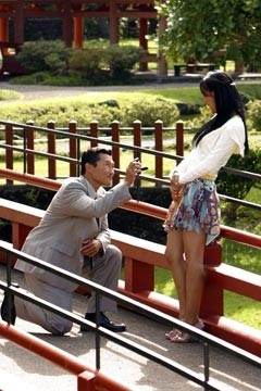 Daniel Dae Kim e Yunjin Kim nell'episodio 'La casa del Sol Levante' (Lost, stagione 1)
