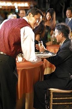 Daniel Dae Kim nell'episodio 'La casa del Sol Levante' di Lost