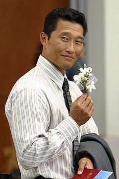 Daniel Dae Kim in una scena dell'episodio 'La casa del Sol Levante' di Lost