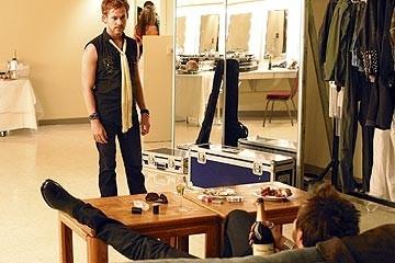 Dominic Monaghan nell'episodio 'La falena' del serial televisivo Lost