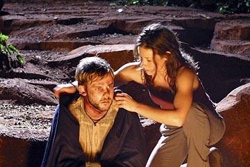 Evangeline Lilly e Dominic Monaghan nell'episodio 'Inseguimento' di Lost