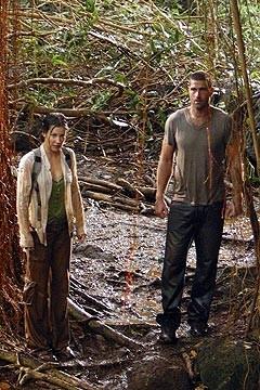 Evangeline Lilly e Matthew Fox nell'ep. 'Inseguimento' di Lost