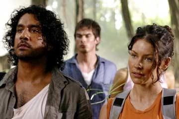 Evangeline Lilly, Naveen Andrews e Ian Somerhalder nel Pilot di Lost