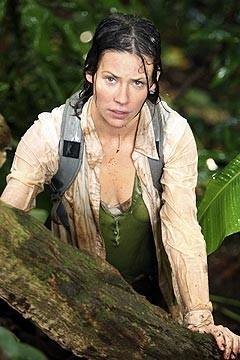 Evangeline Lilly nell'episodio 'Inseguimento' di Lost
