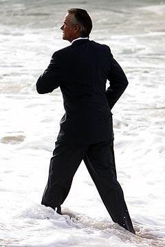 John Terry nell'episodio 'Il coniglio bianco' del serial Lost