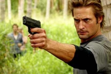 Josh Holloway nel Pilot di Lost