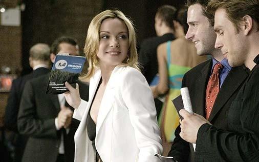 Kim Cattrall in una scena di Sex and the City, episodio Donne di comando