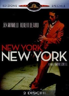 La copertina DVD di New York New York - Edizione speciale