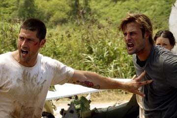 Matthew Fox e Josh Holloway nel Pilot di Lost