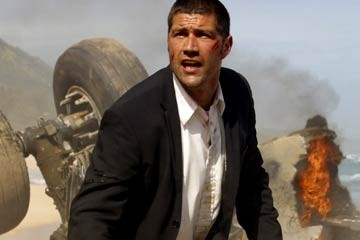 Matthew Fox nell'episodio pilota di Lost