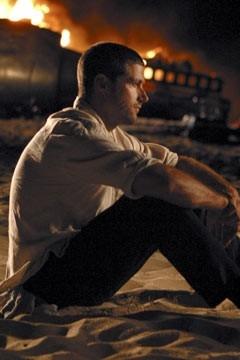 Matthew Fox nell'episodio 'La caccia' di Lost