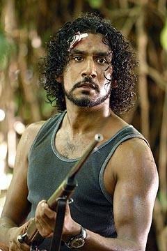 Naveen Andrews nelll'episodio dal titolo 'Solitudine' di Lost