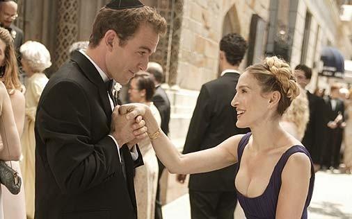 Sarah Jessica Parker in una scena di Sex and the City, episodio La presa