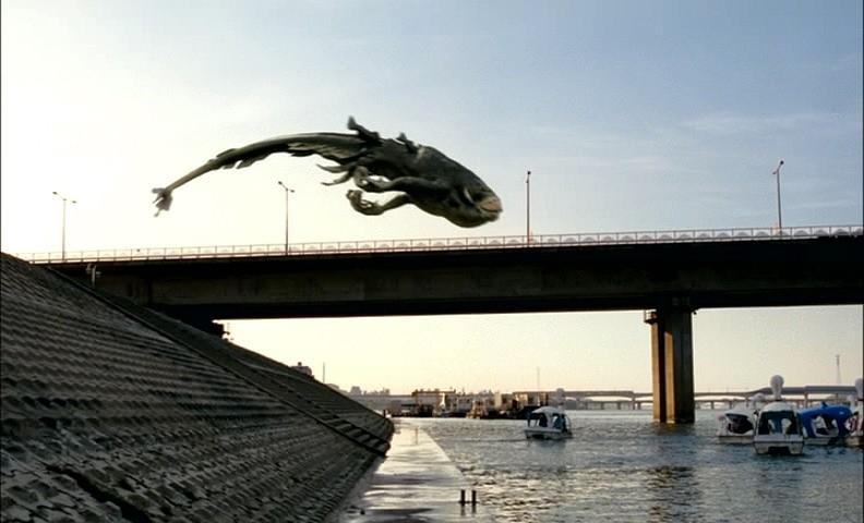 La mostruosa creatura del film THE HOST