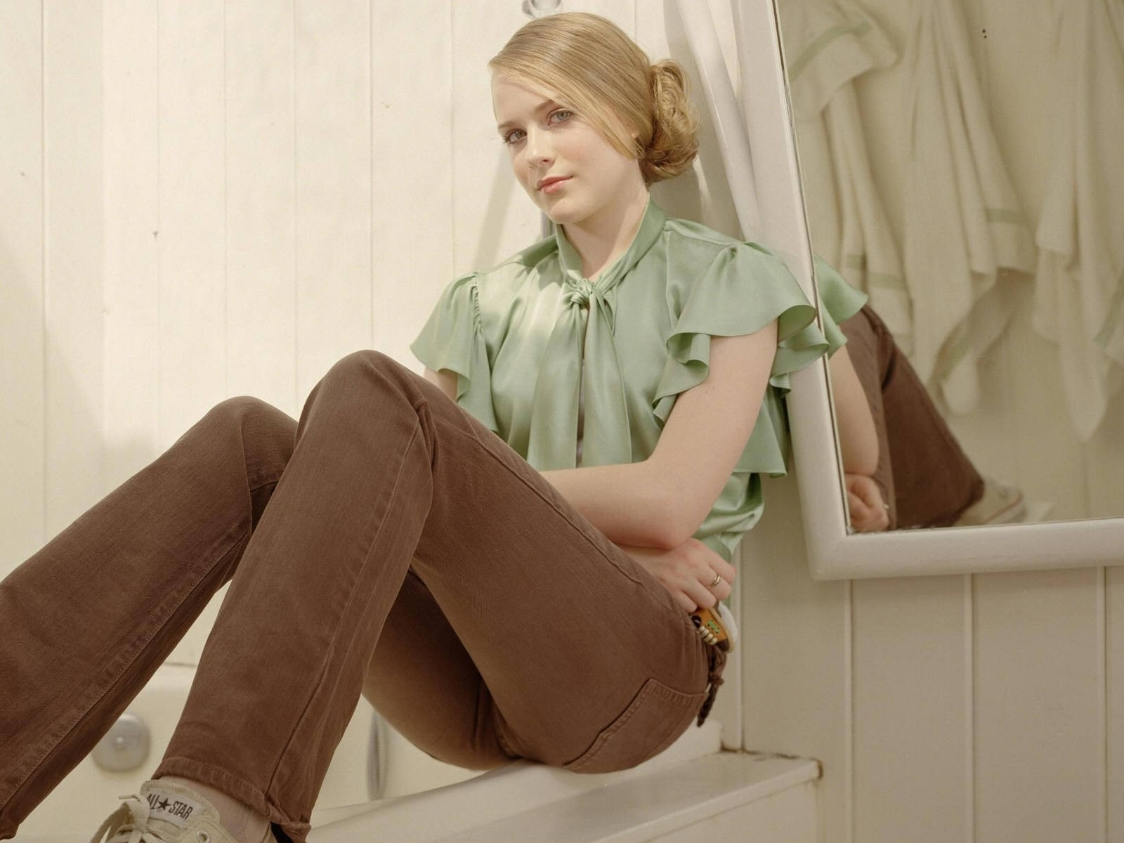 Wallpaper di Evan Rachel Wood, attrice