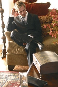 Dominic Monaghan nell'episodio 'Ritorno' di Lost, del 2004