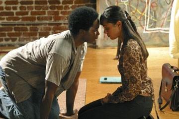 Harold Perrineau accanto a Tamara Taylor nell'episodio 'Speciale' di Lost