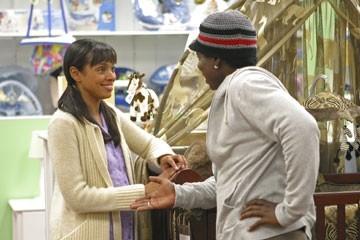 Tamara Taylor  e Harold Perrineau nell'episodio 'Speciale' di Lost
