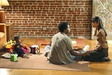 Harold Perrineau e Tamara Taylor nell'episodio 'Speciale' del telefilm Lost