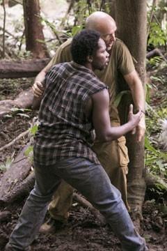 Harold Perrineau e Terry O'Quinn nell'episodio 'Speciale' di Lost