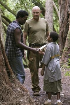 Harold Perrineau, Malcolm David Kelley e Terry O'Quinn nell'episodio 'Speciale' di Lost