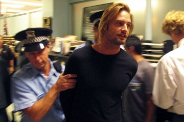 Josh Holloway nell'episodio 'Ragione e sentimento' di Lost