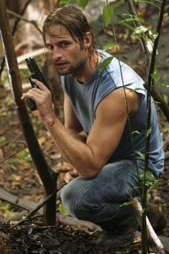 Josh Holloway nell'episodio 'Ritorno' di Lost