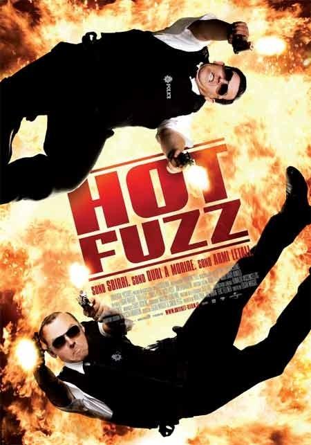 La locandina italiana di Hot Fuzz