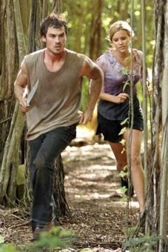 Maggie Grace e Ian Somerhalder nell'episodio 'Ragione e sentimento' della serie tv Lost