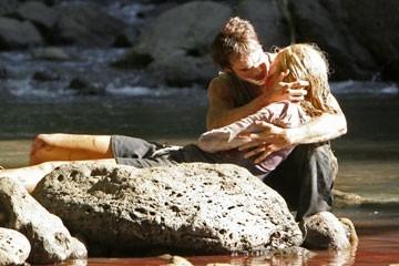Maggie Grace e Ian Somerhalder nell'episodio 'Ragione e sentimento' di Lost