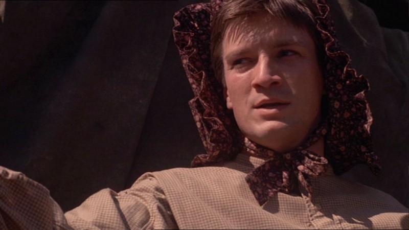 Nathan Fillion in una immagine di Firefly, episodio La signora Reynolds