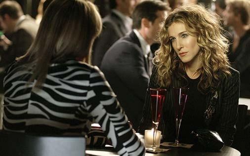 Sarah Jessica Parker in una scena di Sex and the City, episodio Capolinea 38