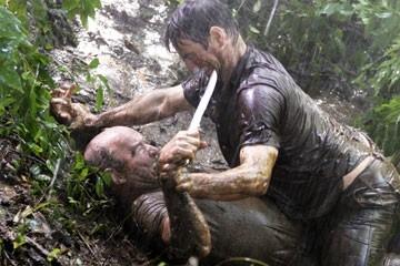 Terry O'Quinn e William Mapother nell'episodio 'Ritorno' di Lost