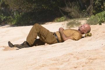 Terry O'Quinn nell'episodio 'Fuorilegge' di Lost