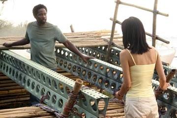 Yunjin Kim ed Harold Perrineau nell'episodio 'Cambiamenti' di Lost