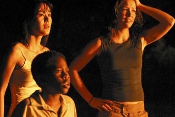 Yunjin Kim, Evangeline Lilly e Malcolm David Kelley nell'episodio 'Cambiamenti' di Lost