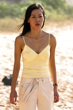 la bella Yunjin Kim nell'episodio 'Cambiamenti' di Lost