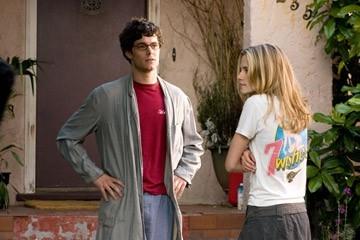 Adam Brody e Kristen Stewart in una scena de Il bacio che aspettavo
