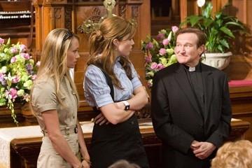 Christine Taylor, Mandy Moore e Robin Williams
