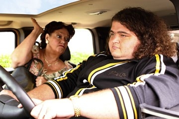 Jorge Garcia accanto a Lillian Hurst nell'episodio 'Numeri' di Lost