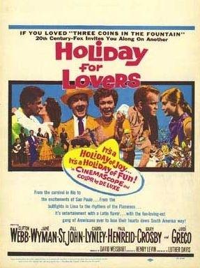 La locandina di Vacanze per amanti