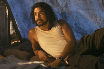 Naveen Andrews nell'episodio 'Numeri' di Lost