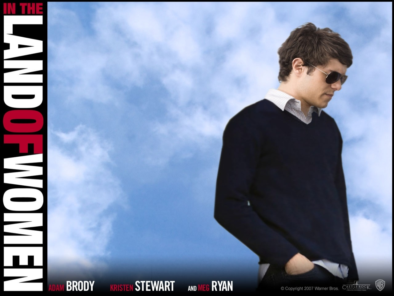 Wallpaper del film Il bacio che aspettavo, con Adam Brody